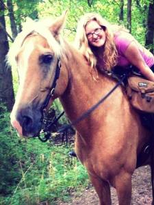 horse trail riding in MI
