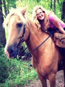 horse trail riding in MI